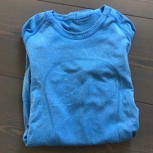 Long sleeve tight fit Lululemon shirt